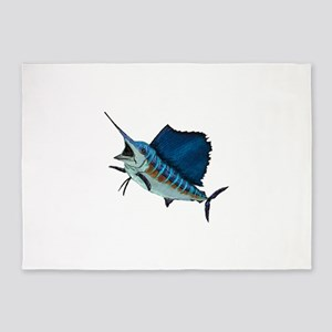 SAILFISH 5'x7'Area Rug