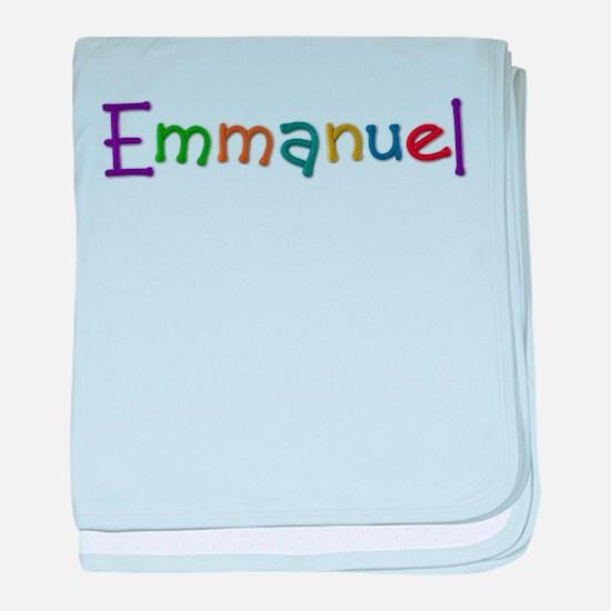 Emmanuel Play Clay baby blanket