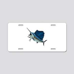 SAILFISH Aluminum License Plate