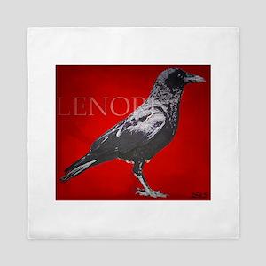Lenore Raven Queen Duvet