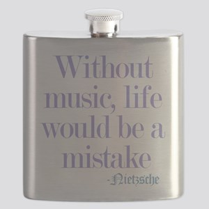 music and life Flask