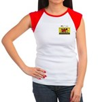 Liberal Hunt Permit Women's Cap Sleeve T-Shirt
