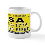 Liberal Hunt Permit Mug