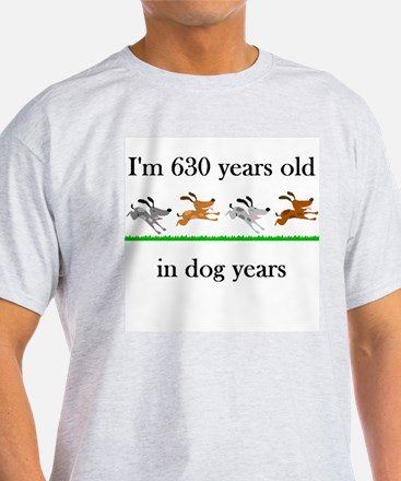 90 birthday dog years 1 T-Shirt