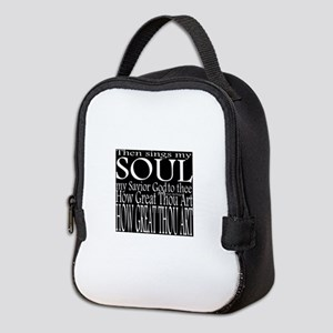 How great Thou Art Reverse Neoprene Lunch Bag
