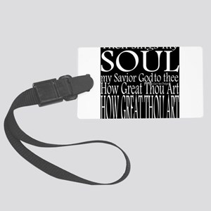 How great Thou Art Reverse Luggage Tag