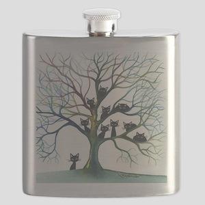 Culpeper Stray Cats Flask