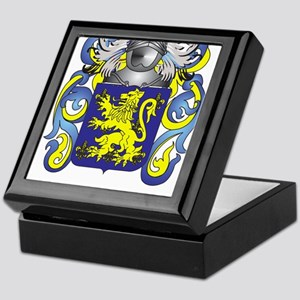 Beaman Coat of Arms Keepsake Box