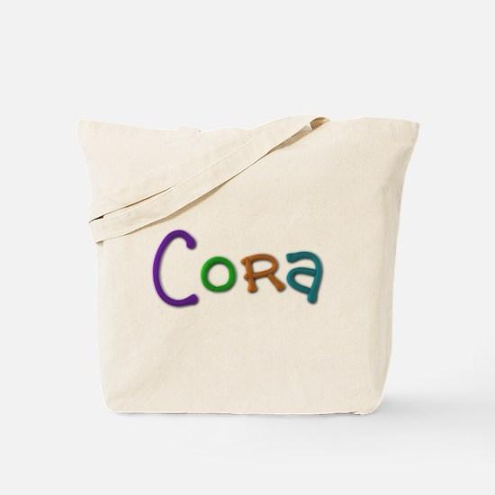 Cora Play Clay Tote Bag