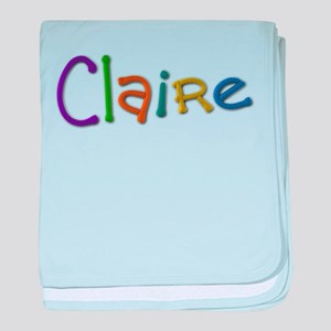 Claire Play Clay baby blanket