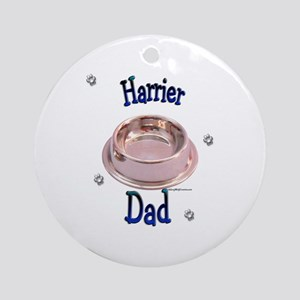 Harrier Dad Ornament (Round)