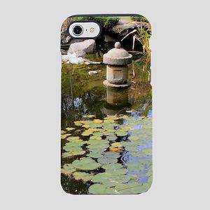Reflections, Japanese garden p iPhone 7 Tough Case