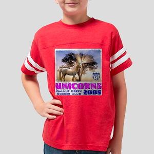 Unicorns_Back05 Youth Football Shirt