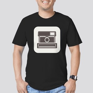 Vintage Instant Camera Men's Fitted T-Shirt (dark)