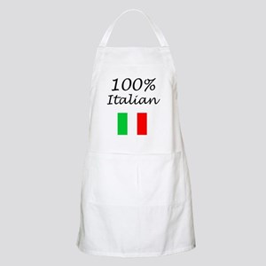 100% Italian BBQ Apron