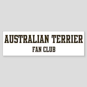 Australian Terrier Fan Club Bumper Sticker
