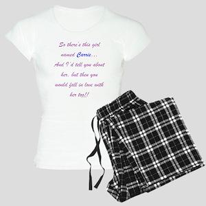 Girl Named Carrie Women's Light Pajamas