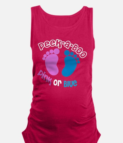 Peek-A-Boo Maternity Tank Top