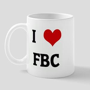I Love FBC Mug