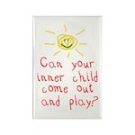 Inner Child Rectangle Magnet (10 pack)