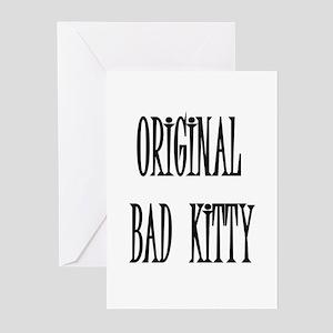 ORIGINAL BAD KITTY Greeting Cards (Pk of 10)