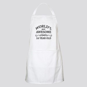 World's Most Awesome 16 Year Old Apron