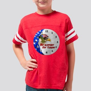 Carrier Eagle We Support Our  Youth Football Shirt