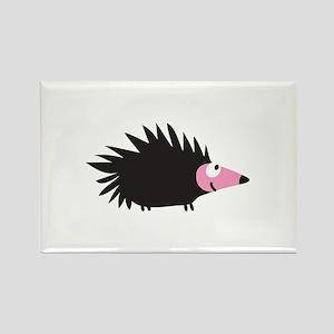 Hedgehog Fun Rectangle Magnet