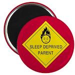 """Sleep Deprived Parent 2.25"""" Magnet (10 pack)"""