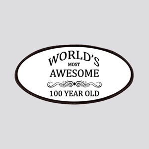 World's Most Awesome 100 Year Old Patches