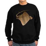 cownose ray c Sweatshirt