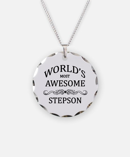 World's Most Awesome Stepson Necklace