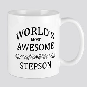 World's Most Awesome Stepson Mug