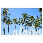 Aloha Palm Trees Dream Posters