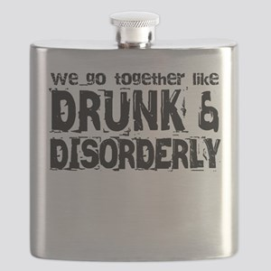 Drunk and Disorderly BFFs Flask