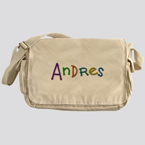 Andres Play Clay Messenger Bag