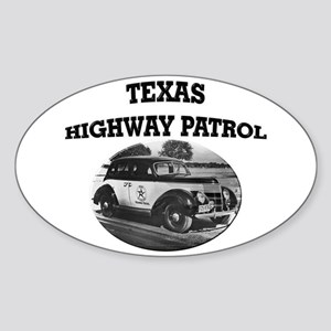 Texas Highway Patrol Sticker