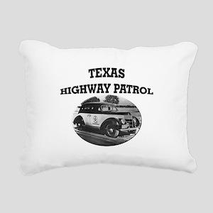 Texas Highway Patrol Rectangular Canvas Pillow
