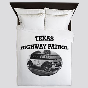 Texas Highway Patrol Queen Duvet