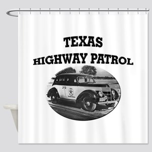 Texas Highway Patrol Shower Curtain