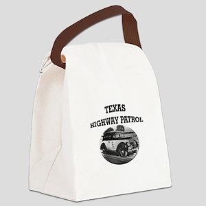 Texas Highway Patrol Canvas Lunch Bag