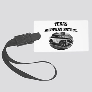 Texas Highway Patrol Luggage Tag