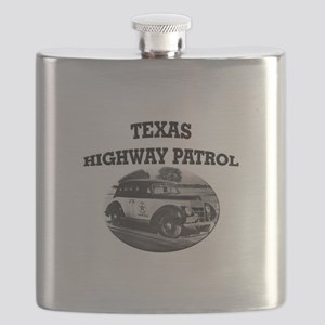 Texas Highway Patrol Flask