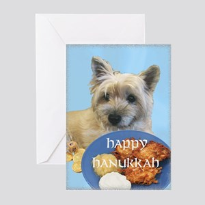 Chanukah Latke Cairn Greeting Cards (Pk of 10)