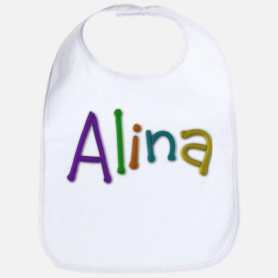 Alina Play Clay Bib