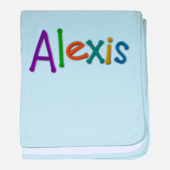 Alexis Play Clay baby blanket