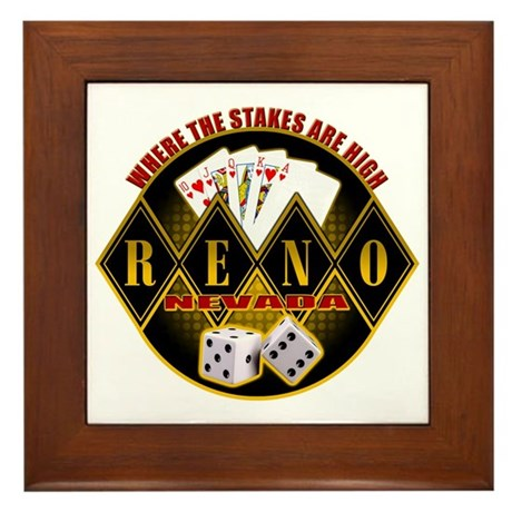 Where The Stakes Are High! Framed Tile