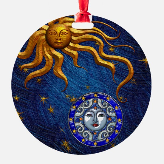 Harvest Moons Sun and Moon Ornament