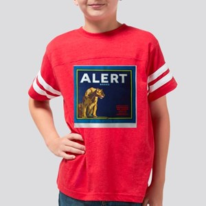 Alerttee2 Youth Football Shirt