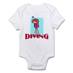 Diving Infant Bodysuit